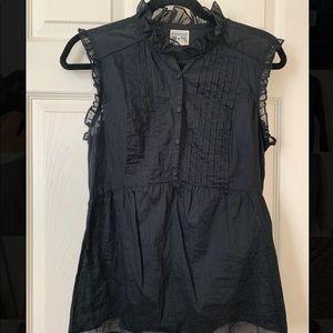 Convers Women's black sleeveless top